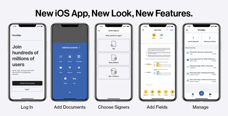 eSignature Even Easier: The New DocuSign iOS App